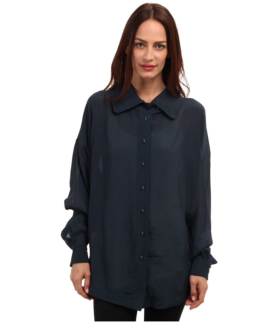 Vivienne Westwood Anglomania - Adaption Blouse (Petrol) Women's Blouse
