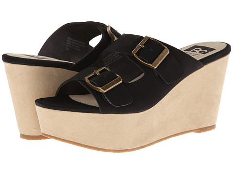 BC Footwear - Mayhem (Black) Women's Wedge Shoes
