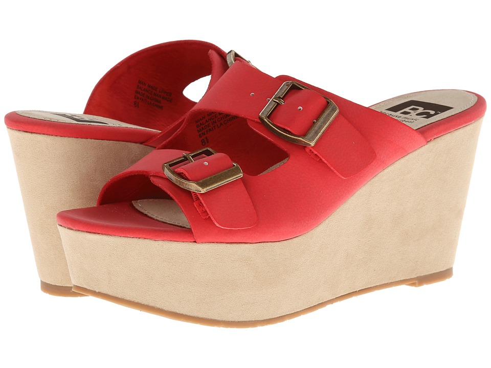 BC Footwear - Mayhem (Red) Women's Wedge Shoes