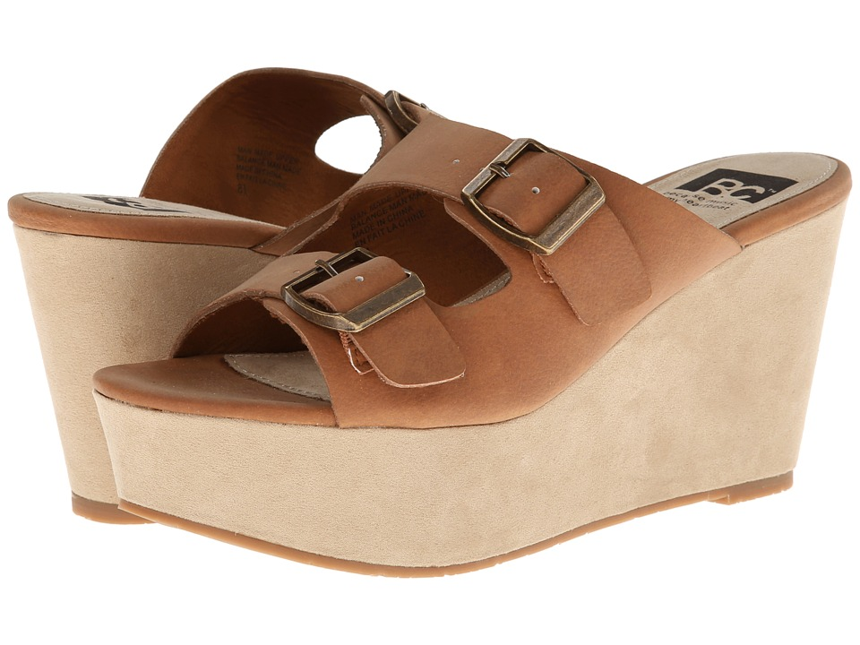 BC Footwear - Mayhem (Whiskey) Women's Wedge Shoes