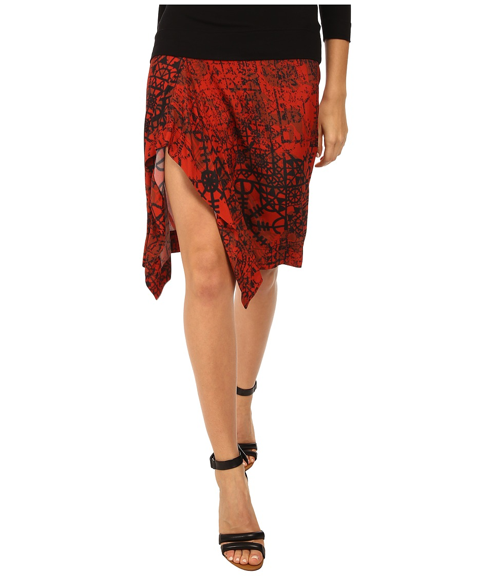 Vivienne Westwood - Solstice Skirt (Orange) Women's Skirt
