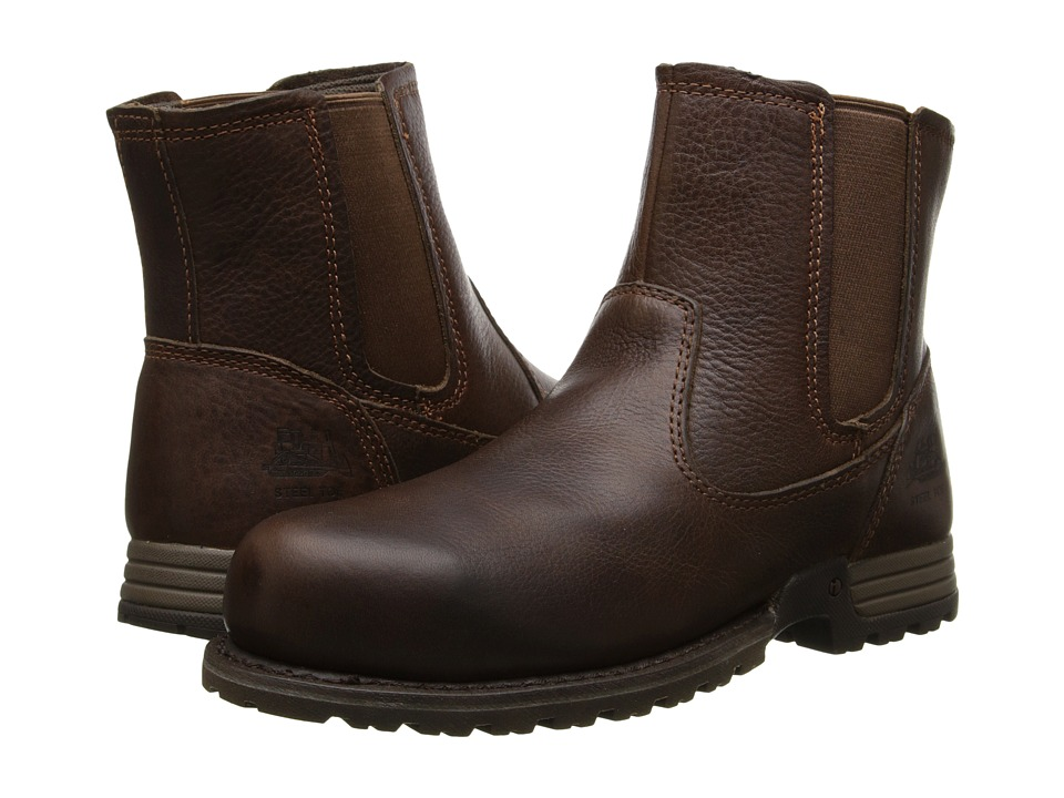Caterpillar - Freedom Pull On Steel Toe (Oak Cinch) Women's Work Pull-on Boots
