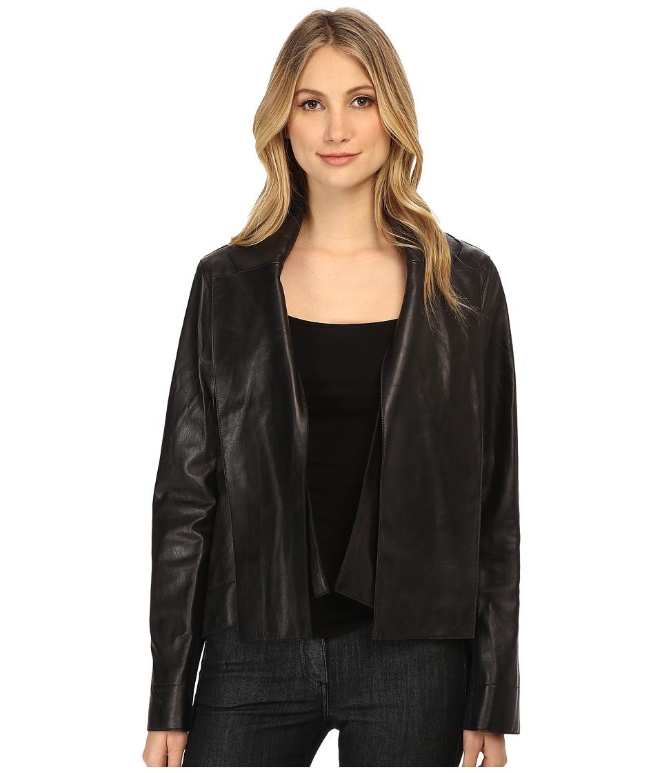 Vivienne Westwood Anglomania - Leather Renee Jacket (Black) Women's Coat