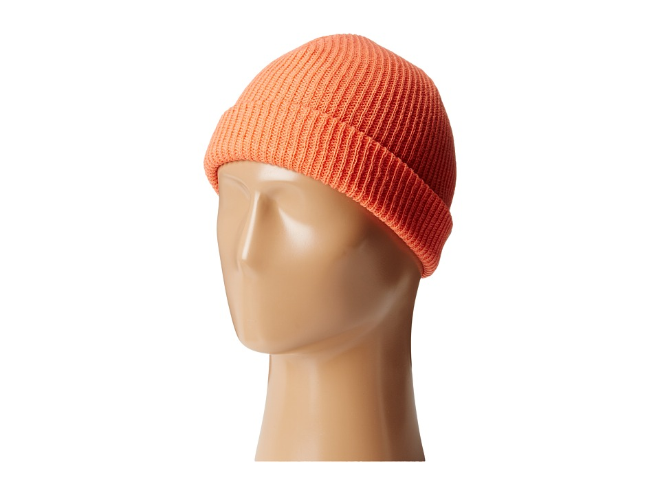 Neff - Fold Beanie (Youth) (Coral) Beanies