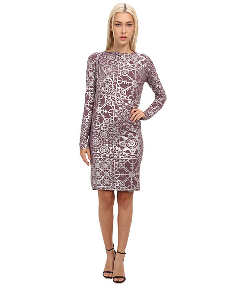 Vivienne Westwood Anglomania - Pioneer Dress (Silver/Mauve) Women's Dress