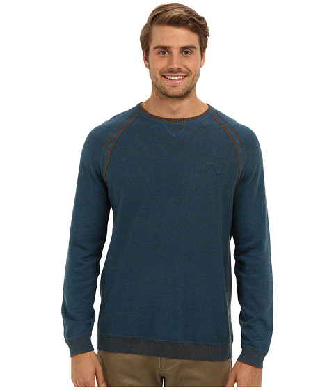 Tommy Bahama - Barbados Crew Sweater (At Sea) Men's Sweater