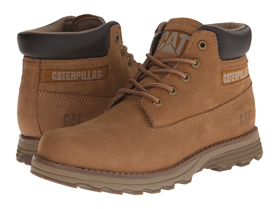 Caterpillar - Founder (Bronze Brown Nubuck) Men's Lace-up Boots