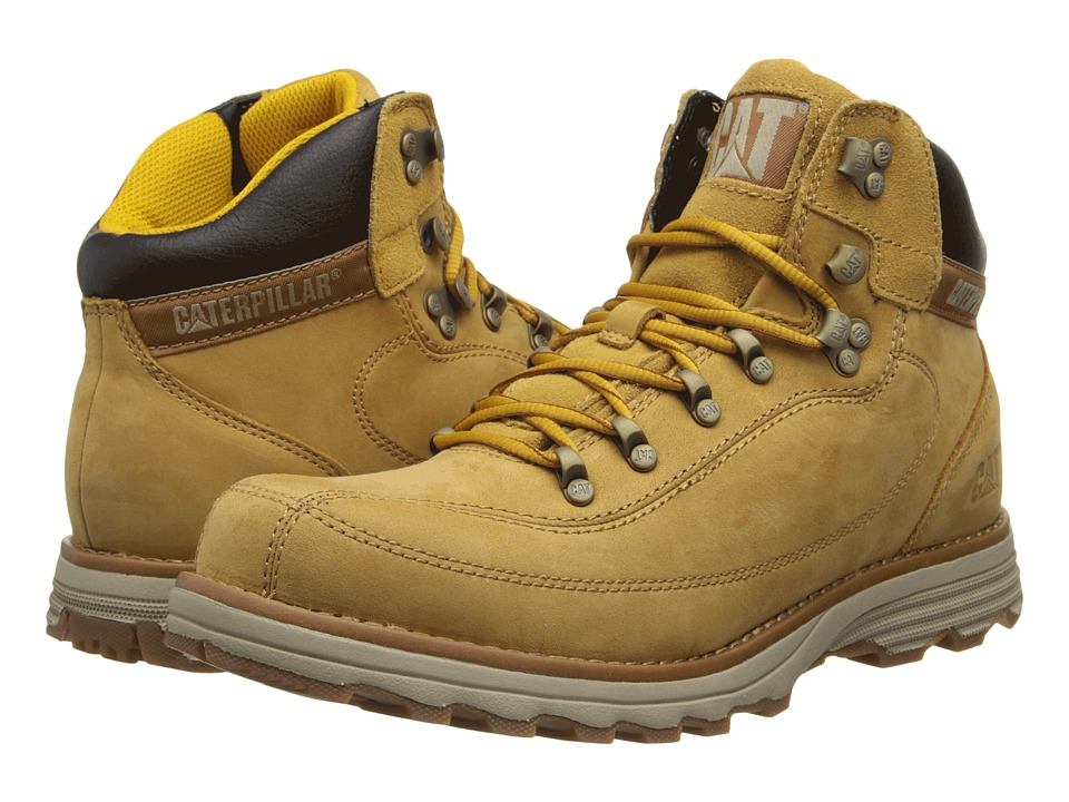 Caterpillar - Highbury (Honey Reset Nubuck) Men's Lace-up Boots