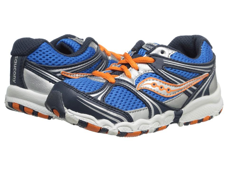 Saucony Kids - Baby Catalyst LTT (Toddler) (Blue/Navy/Orange) Boys Shoes