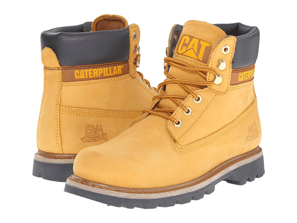 Caterpillar - Colorado (Golden Glow Nubuck) Men's Work Boots