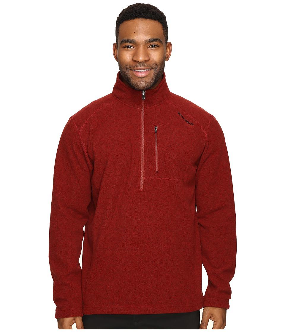 Hot Chillys - Baja Pocket Zip-T (Ember) Men's Clothing