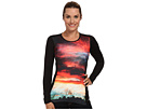 Micro-Elite Chamois Sublimated Print Crewneck