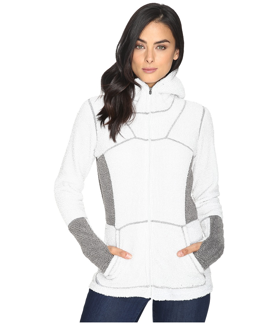 Hot Chillys - Pico Full Zip Hoodie (Stone) Women's Sweatshirt