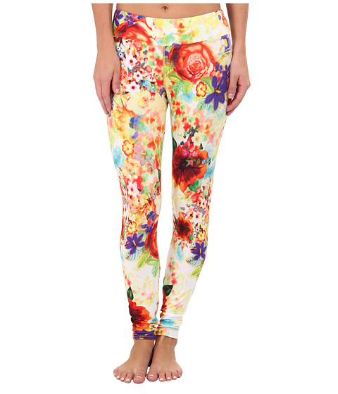 Hot Chillys - MTF Sublimated Print Tight (Garden Party) Women's Outerwear