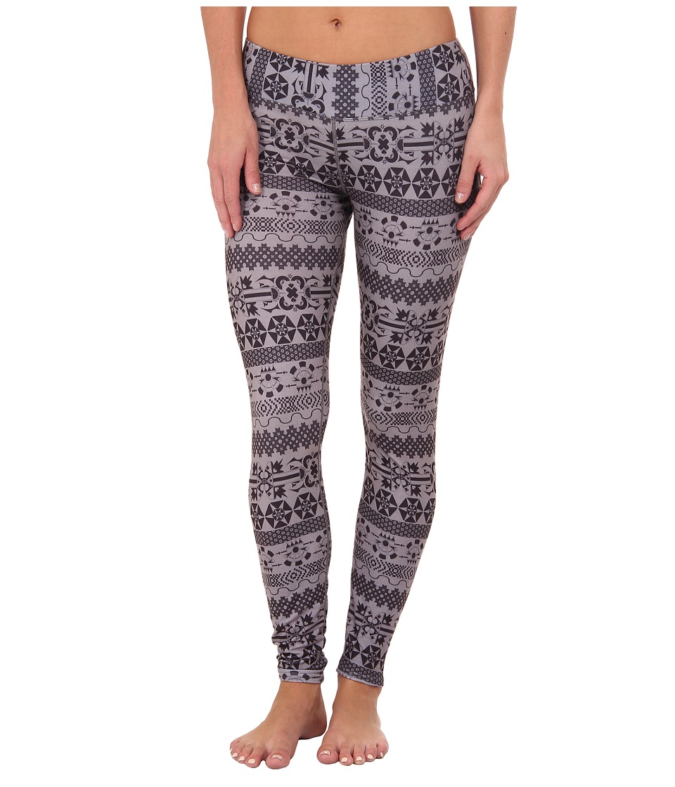 Hot Chillys - MTF Sublimated Print Tight (Grey Iconic) Women's Outerwear