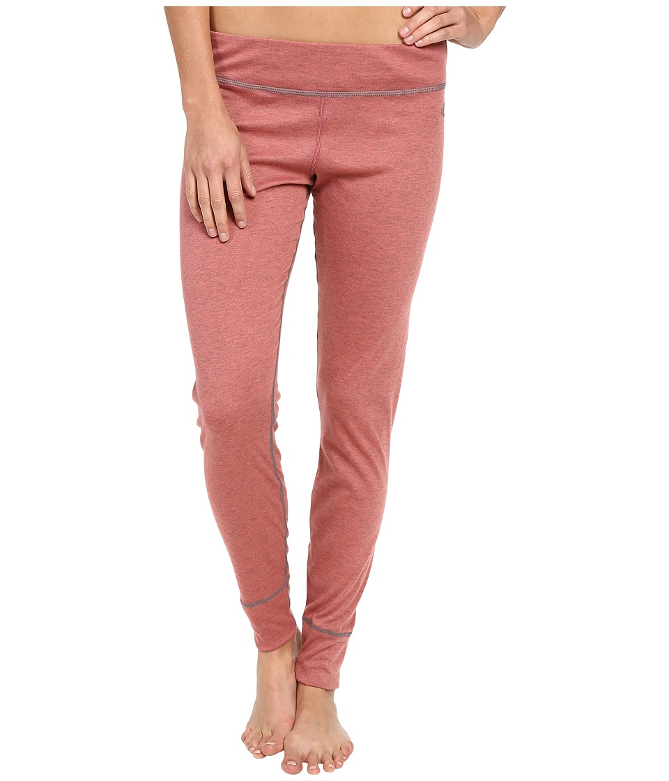Hot Chillys - Geo Pro Bottom (Rose/Heather) Women's Casual Pants