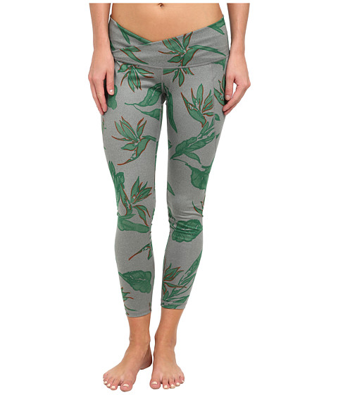 Burton - Eclipse Legging (Dark Ash Heather Hawaiian) Women