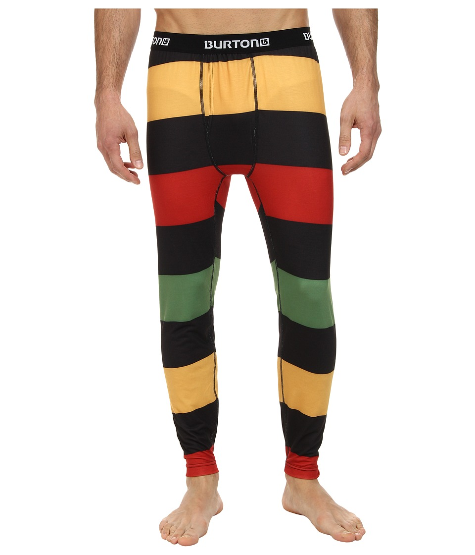 Burton - Midweight Pant (Pop Stripe Rasta) Men's Casual Pants