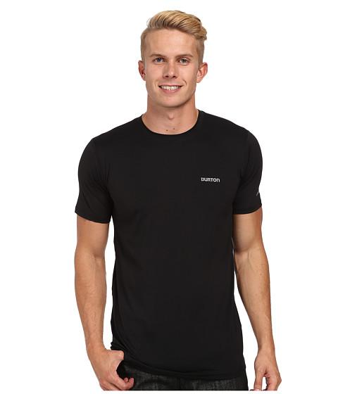 Burton - MB Lightweight Tech Tee (True Black) Men's Short Sleeve Pullover