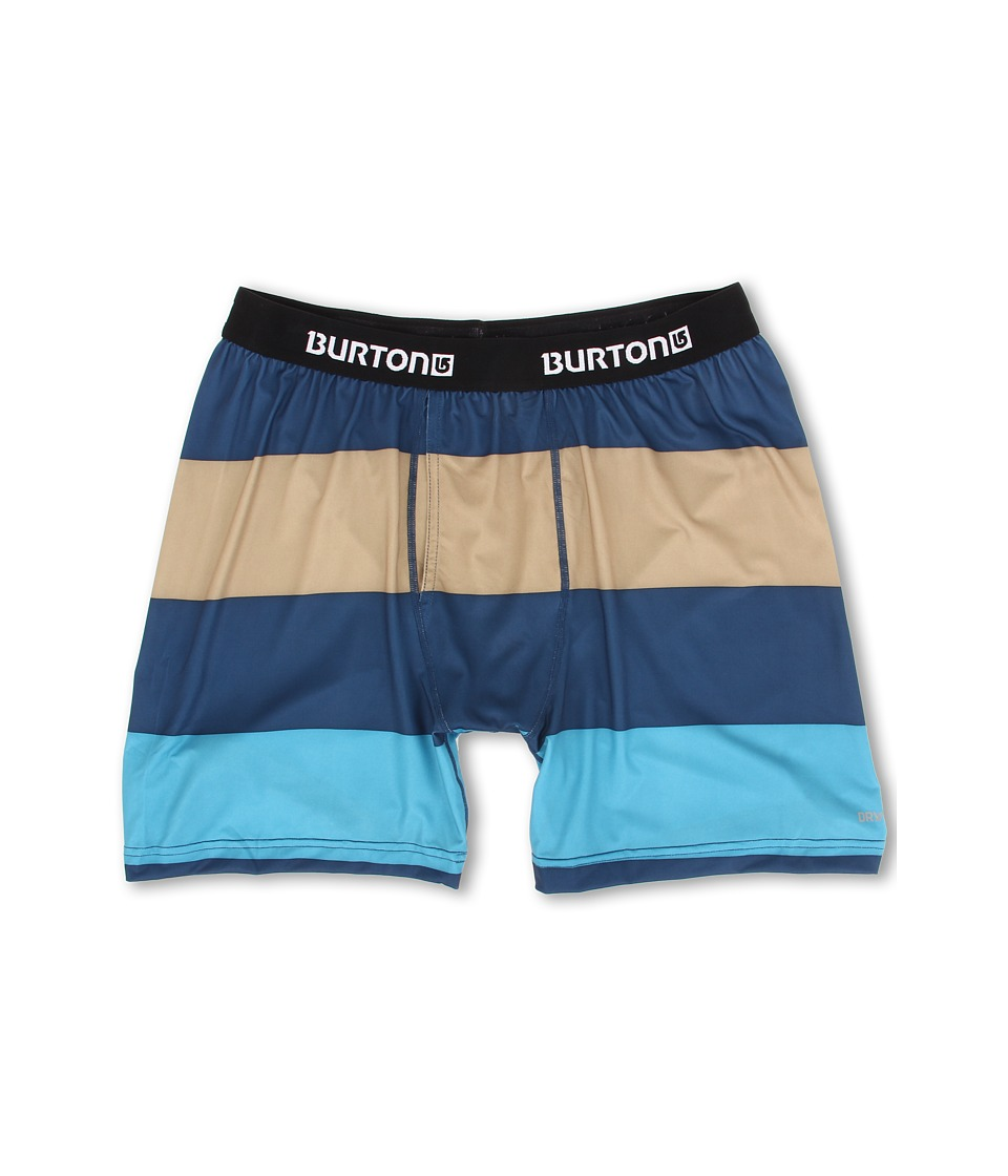 Burton - MB Lightweight Boxer (Team Blue Pop Stripe) Men's Underwear