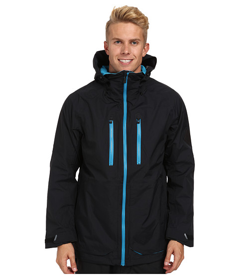 Burton - MB Warren Jacket (True Black) Men's Jacket