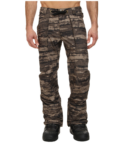 Burton - MB Southside Pant (Camo Tie Die Stripe) Men's Outerwear