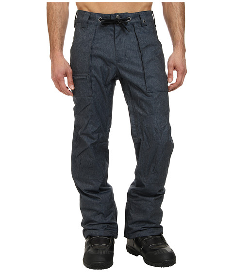 Burton - MB Southside Pant (Blue Denim) Men's Outerwear