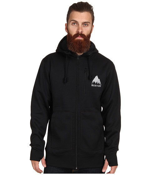 Burton - Bonded Hoodie (True Black) Men