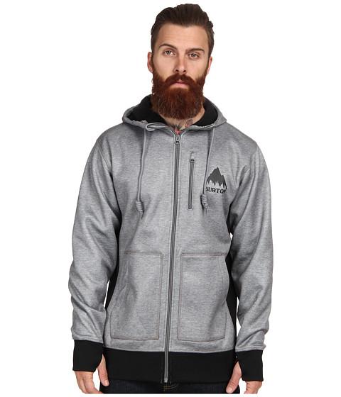 Burton - Bonded Hoodie (Monument Heather) Men's Sweatshirt