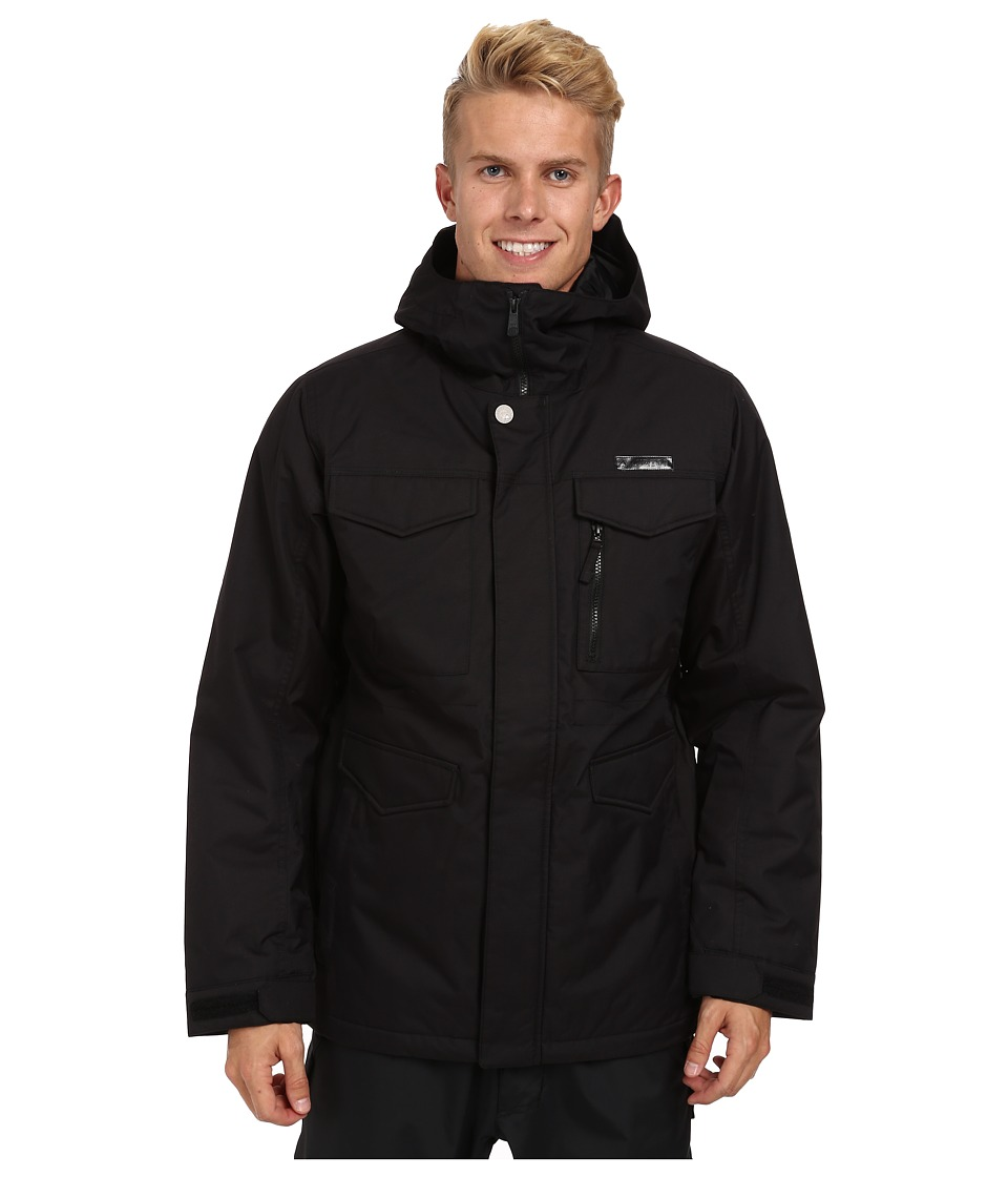 Burton - MB Covert Jacket (True Black) Men's Coat