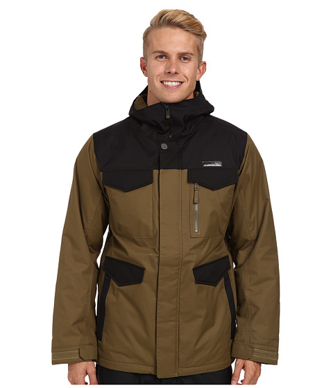 Burton - MB Covert Jacket (Hickory/True Black) Men's Coat
