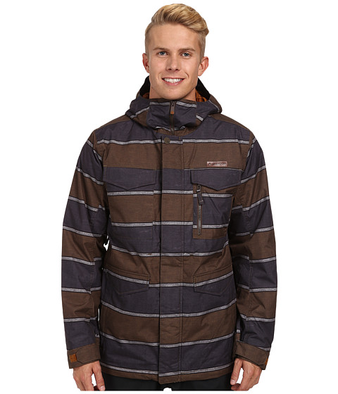 Burton - MB Covert Jacket (True Penny Nyack Stripe) Men's Coat