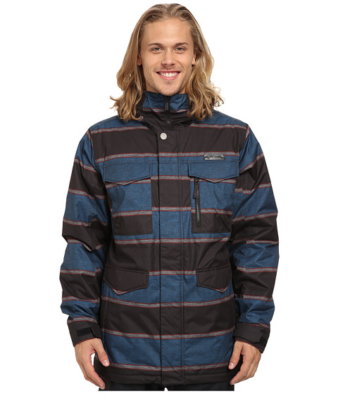 Burton - MB Covert Jacket (Mascot Nyack Stripe) Men's Coat