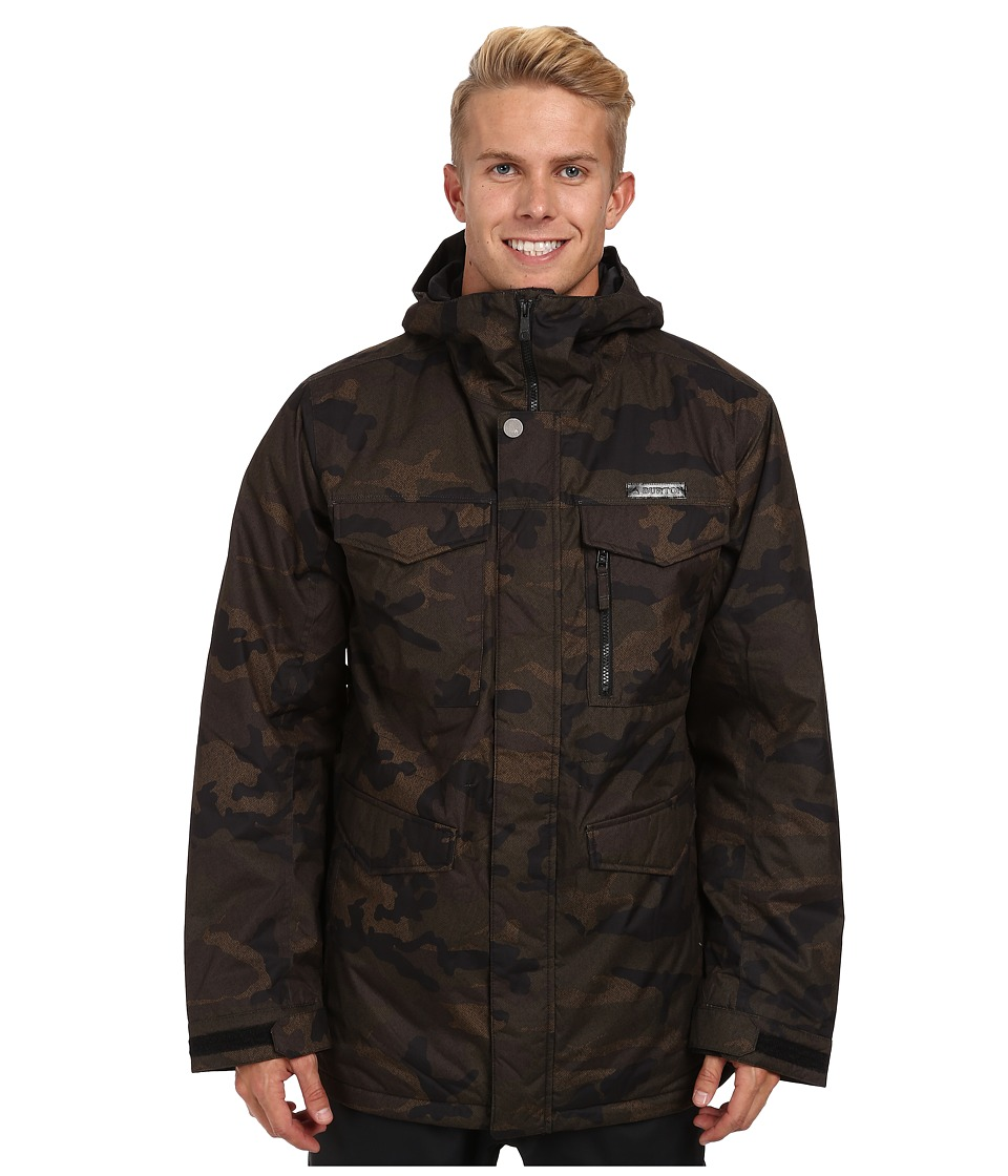 Burton - MB Covert Jacket (Lowland Camo) Men's Coat