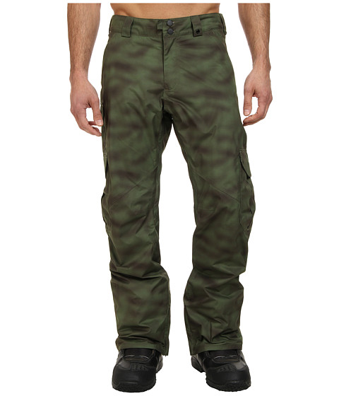Burton - Cargo Pant (Spray Camo) Men's Casual Pants