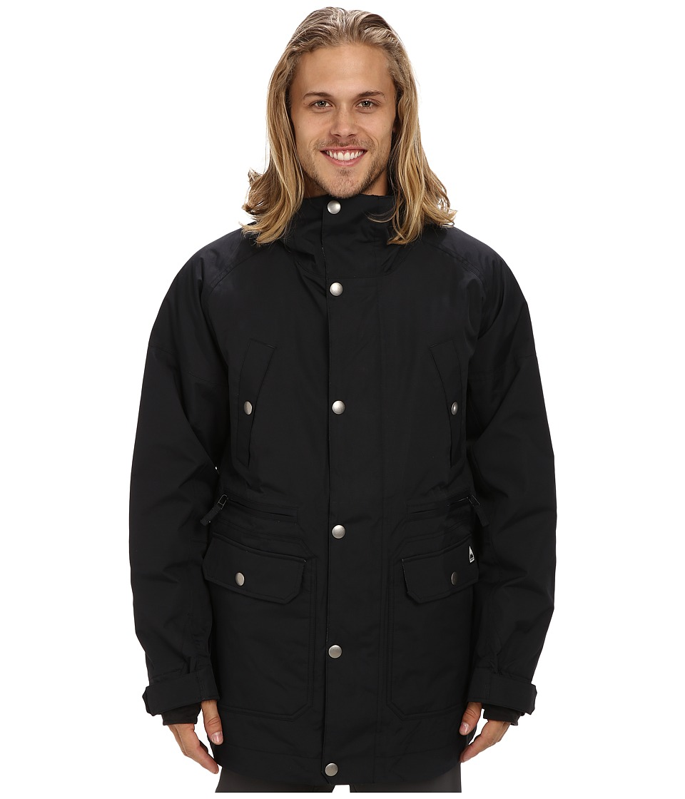 Burton - MB Cambridge Jacket (True Black) Men's Coat