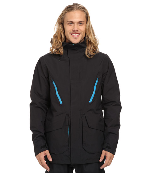 Burton - Breach Jacket (True Black 1) Men's Coat
