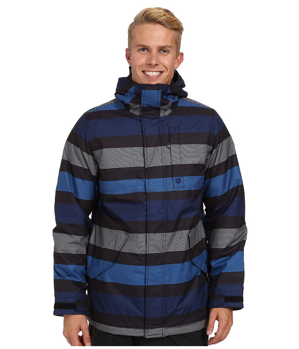 Burton - TWC Greenlight Jacket (True Black Micro Stripe) Men's Coat