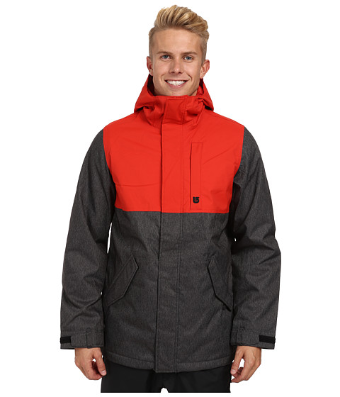 Burton - TWC Greenlight Jacket (True Black Denim/Fang) Men's Coat