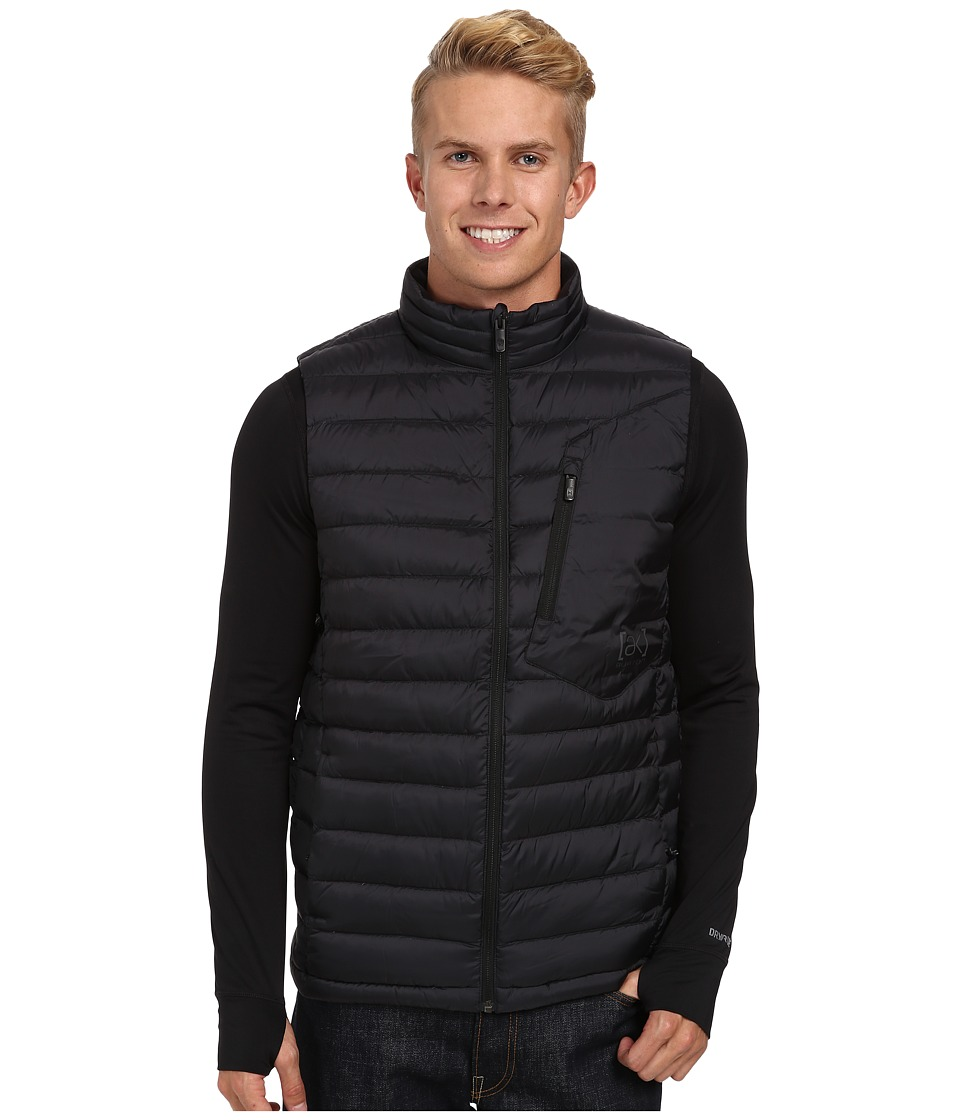 Burton - [ak] BK Down Insulator Vest (True Black) Men's Vest