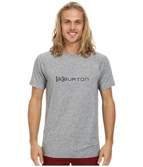 Burton - AK DR Wool S/S Crew (Bog Heather) Men