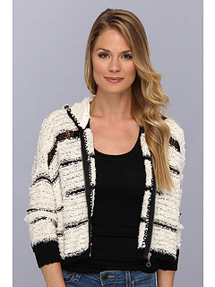 SALE! $96.99 - Save $51 on Free People Cecilia Hoodie (Ivory Combo) Apparel - 34.47% OFF $148.00