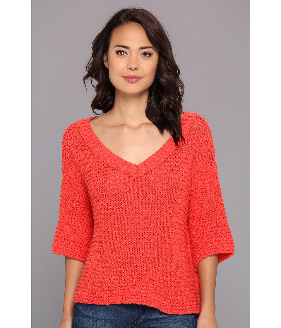Free People - Park Slope Sweater (Poppy) Women's Sweater