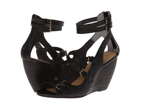 Seychelles - Escape (Black) Women's Wedge Shoes