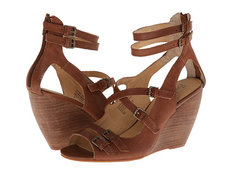 Seychelles - Escape (Whiskey) Women's Wedge Shoes