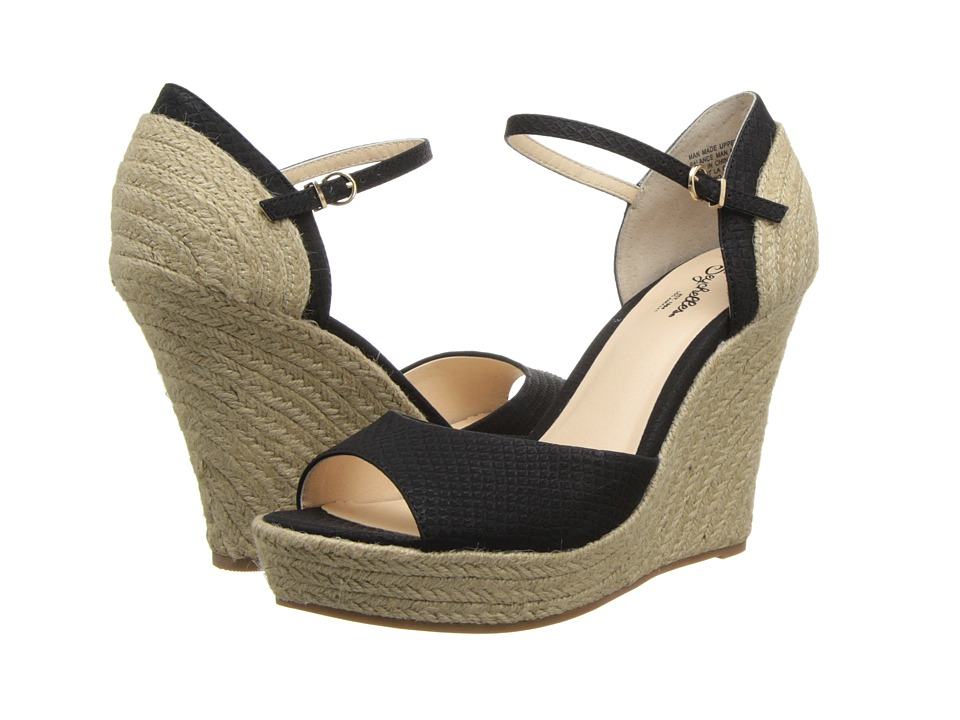 Seychelles - Catch Your Breath (Black) Women's Wedge Shoes