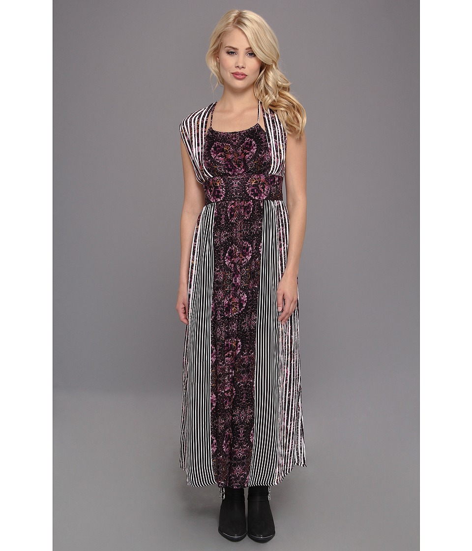 Free People - Mayan Temple Dress (Midnight Combo) Women's Dress