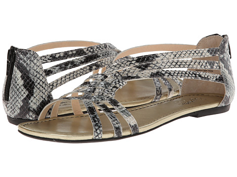 Seychelles - Middle of the Night (Black/White Python) Women's Sandals