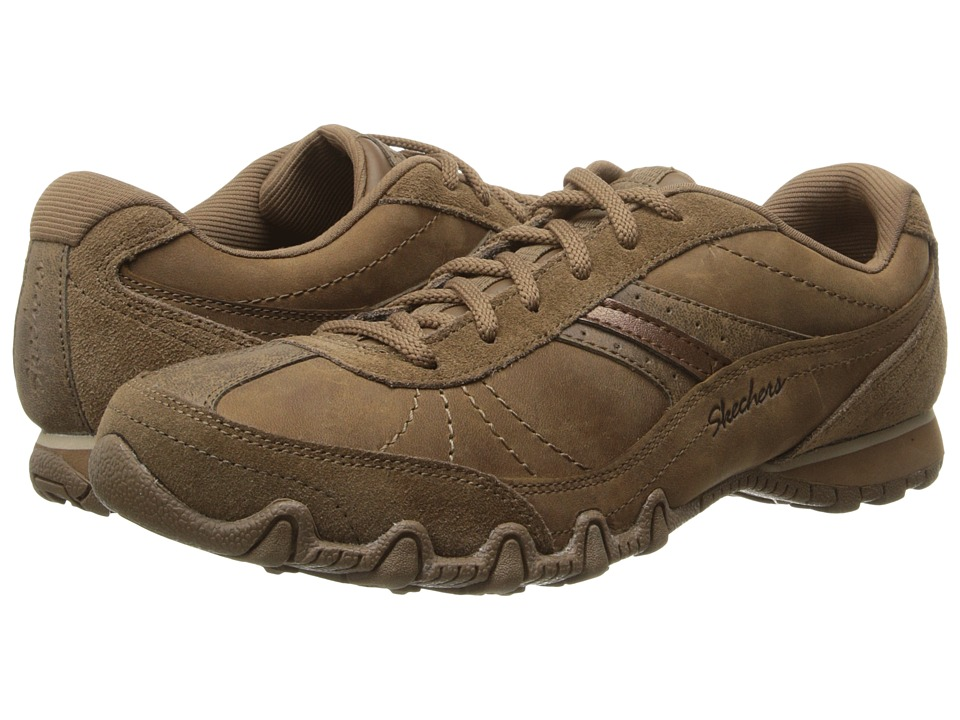 SKECHERS - Relaxed Fit - Bikers-Systematic (Crazy Horse) Women's Shoes