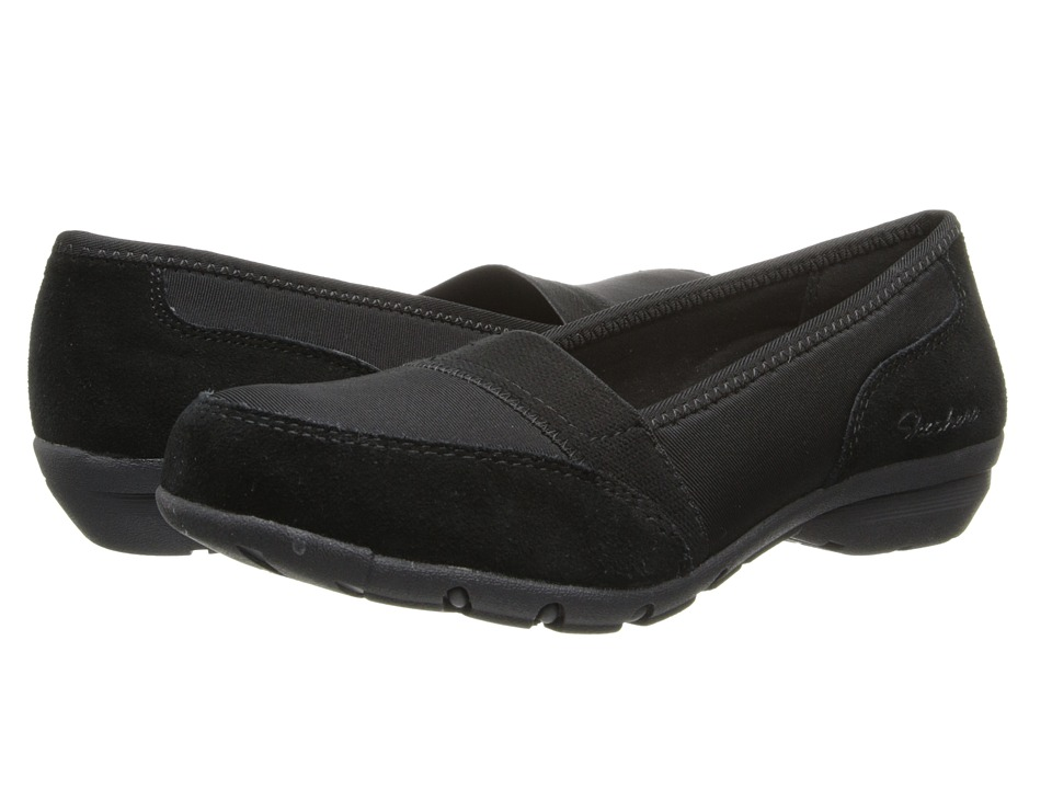 SKECHERS - Relaxed Fit - Career- 9 to 5 (Black) Women's Flat Shoes
